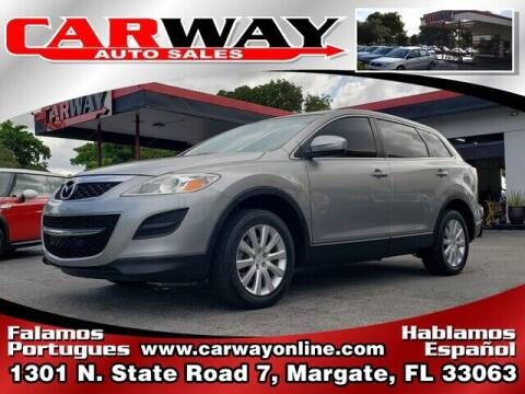 2010 Mazda CX-9 for sale at CARWAY Auto Sales in Margate FL