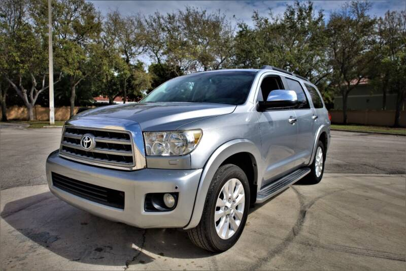 2011 Toyota Sequoia for sale at Easy Deal Auto Brokers in Hollywood FL