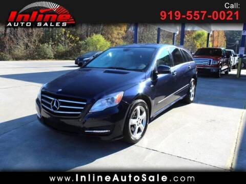 2012 Mercedes-Benz R-Class for sale at Inline Auto Sales in Fuquay Varina NC