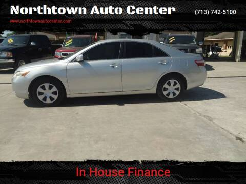 2009 Toyota Camry for sale at Northtown Auto Center in Houston TX