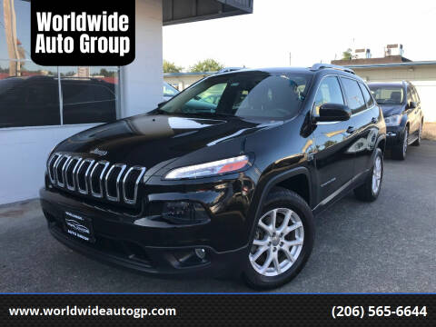 2015 Jeep Cherokee for sale at Worldwide Auto Group in Auburn WA
