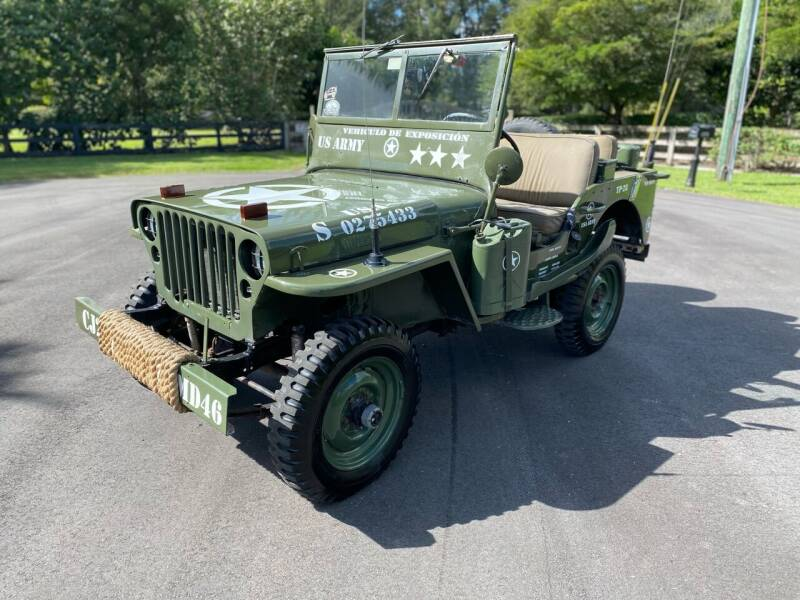 1946 Willys CJ-2A for sale at Ultimate Dream Cars in Royal Palm Beach FL