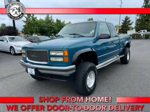 1998 GMC Sierra 1500 for sale at Auto 206, Inc. in Kent WA