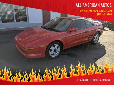 1993 Toyota MR2 for sale at All American Autos in Kingsport TN