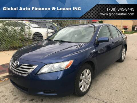 2007 Toyota Camry Hybrid for sale at Global Auto Finance & Lease INC in Maywood IL