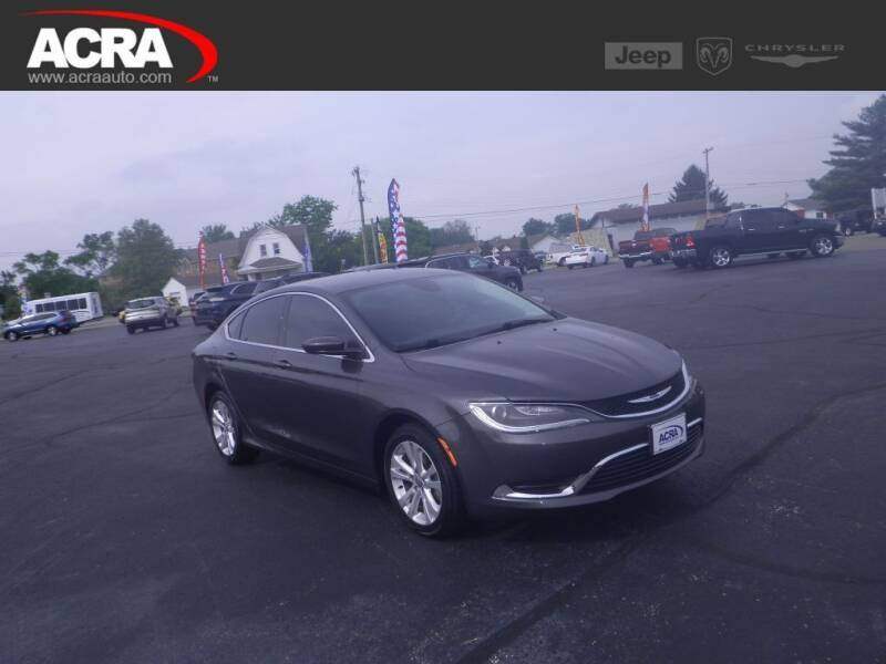 2015 Chrysler 200 for sale at BuyRight Auto in Greensburg IN