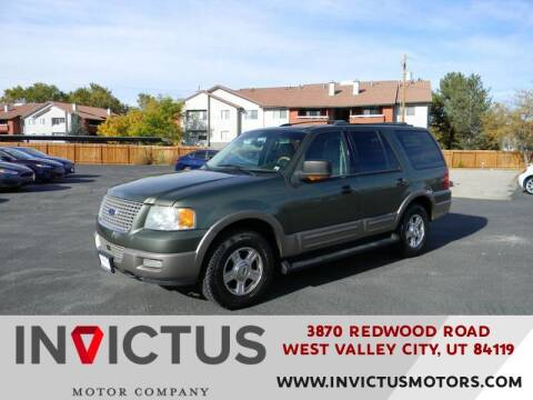 2003 Ford Expedition for sale at INVICTUS MOTOR COMPANY in West Valley City UT