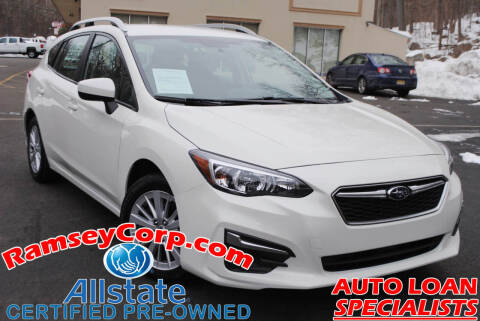 2018 Subaru Impreza for sale at Ramsey Corp. in West Milford NJ