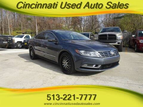 2014 Volkswagen CC for sale at Cincinnati Used Auto Sales in Cincinnati OH