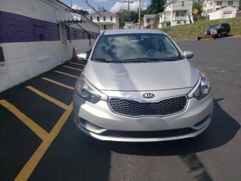 2016 Kia Forte for sale at KANE AUTO SALES in Greensburg PA