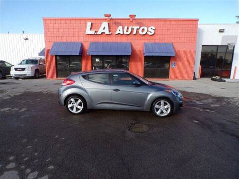 2013 Hyundai Veloster for sale at L A AUTOS in Omaha NE