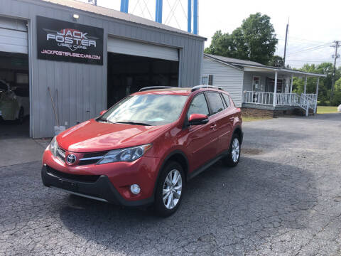 2015 Toyota RAV4 for sale at Jack Foster Used Cars LLC in Honea Path SC