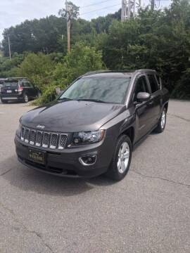 2015 Jeep Compass for sale at WEB NIK Motors in Fitchburg MA