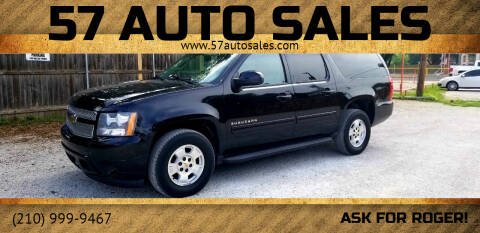2010 Chevrolet Suburban for sale at 57 Auto Sales in San Antonio TX