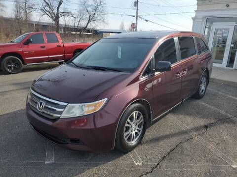 2012 Honda Odyssey for sale at Rick's R & R Wholesale, LLC in Lancaster OH