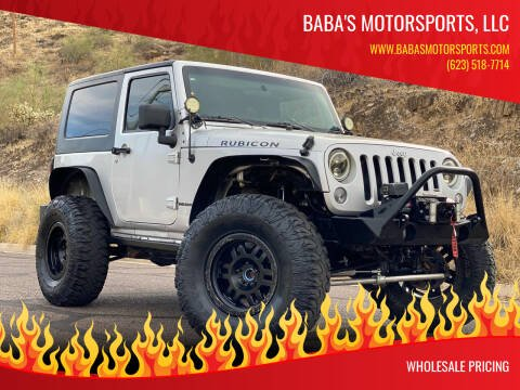 2009 Jeep Wrangler for sale at Baba's Motorsports, LLC in Phoenix AZ