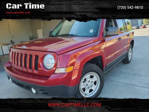 2014 Jeep Patriot for sale at Car Time in Denver CO