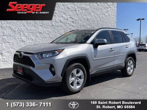 2020 Toyota RAV4 for sale at SEEGER TOYOTA OF ST ROBERT in St Robert MO