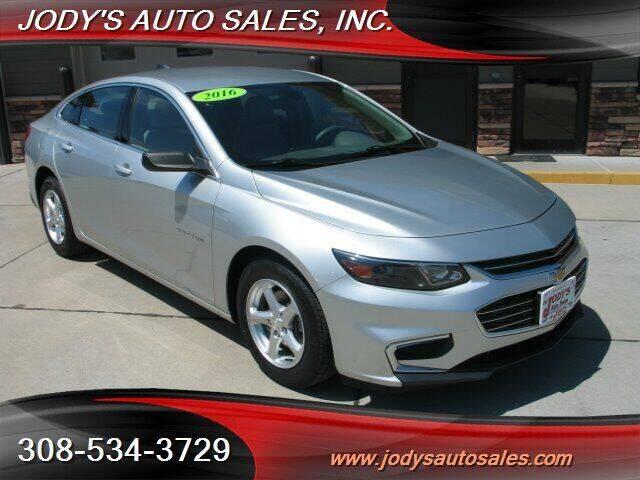 2016 Chevrolet Malibu for sale at Jody's Auto Sales in North Platte NE