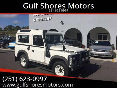 1981 Land Rover Defender Santana for sale at Gulf Shores Motors in Gulf Shores AL