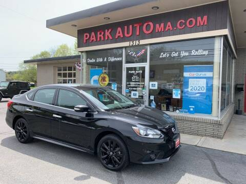 2018 Nissan Sentra for sale at Park Auto LLC in Palmer MA