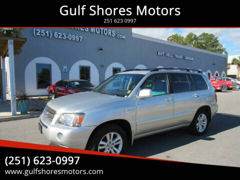 2006 Toyota Highlander Hybrid for sale at Gulf Shores Motors in Gulf Shores AL