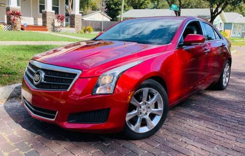 2013 Cadillac ATS for sale at CHECK  AUTO INC. in Tampa FL