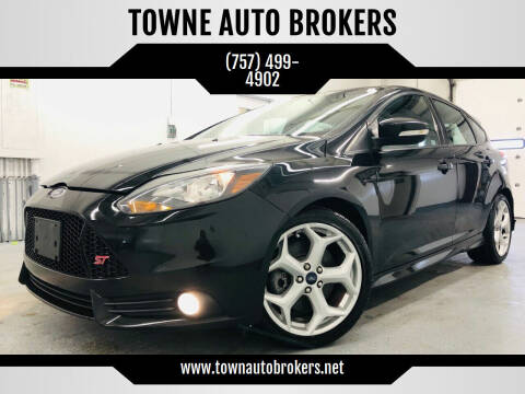2014 Ford Focus for sale at TOWNE AUTO BROKERS in Virginia Beach VA