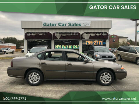 2002 Chevrolet Impala for sale at Gator Car Sales in Picayune MS