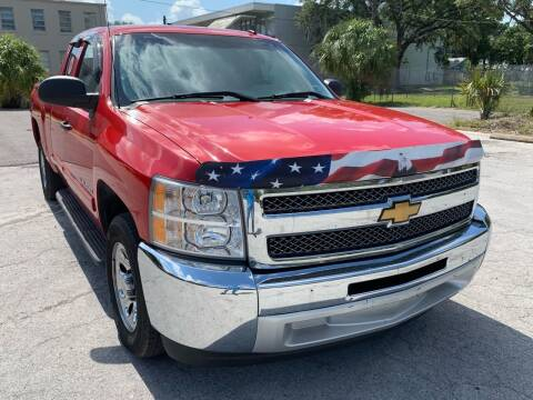 2012 Chevrolet Silverado 1500 for sale at Consumer Auto Credit in Tampa FL