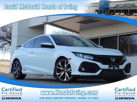 2018 Honda Civic for sale at DAVID McDAVID HONDA OF IRVING in Irving TX