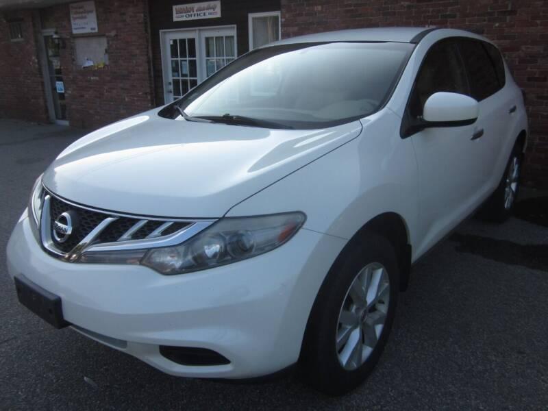 2011 Nissan Murano for sale at Tewksbury Used Cars in Tewksbury MA