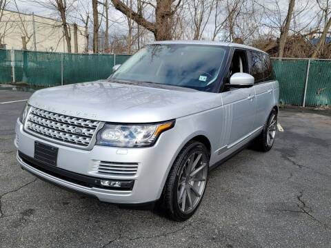 2015 Land Rover Range Rover for sale at AW Auto & Truck Wholesalers  Inc. in Hasbrouck Heights NJ
