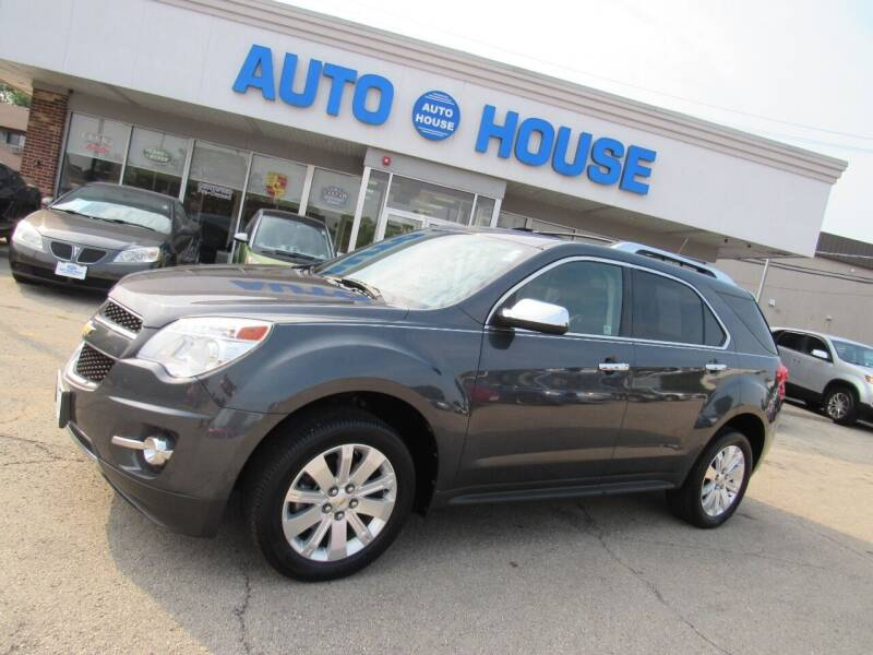 2010 Chevrolet Equinox for sale at Auto House Motors in Downers Grove IL