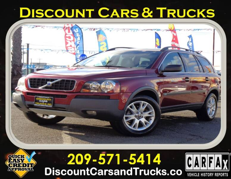 2005 Volvo XC90 for sale at Discount Cars & Trucks in Modesto CA