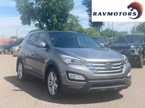 2015 Hyundai Santa Fe Sport for sale at RAVMOTORS in Burnsville MN