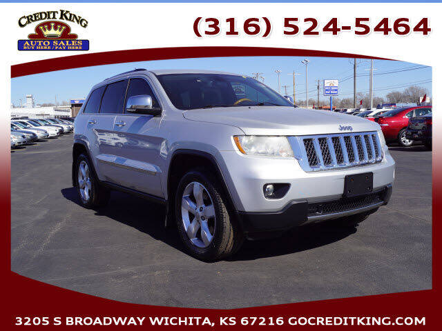 2012 Jeep Grand Cherokee for sale at Credit King Auto Sales in Wichita KS