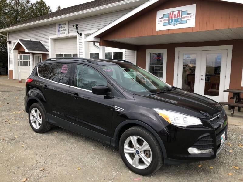 2013 Ford Escape for sale at M&A Auto in Newport VT