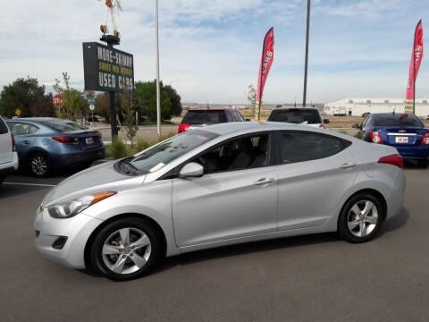 2013 Hyundai Elantra for sale at More-Skinny Used Cars in Pueblo CO