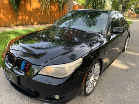 2010 BMW 5 Series for sale at FINANCIAL CLAIMS & SERVICING INC in Hollywood FL
