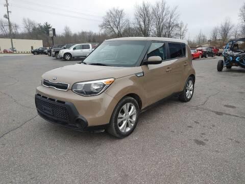 2015 Kia Soul for sale at Cruisin' Auto Sales in Madison IN