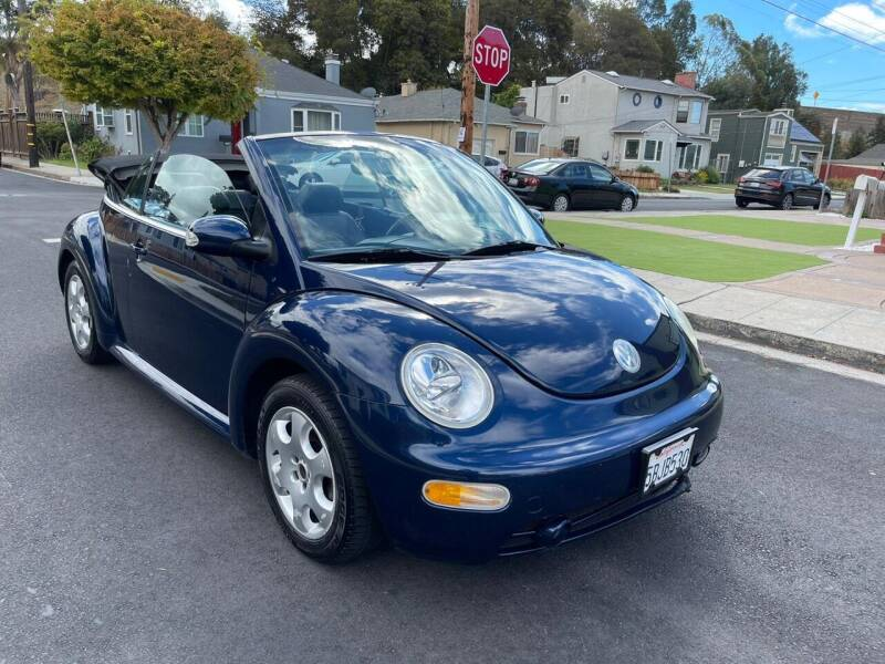 2003 Volkswagen New Beetle Convertible for sale at ZaZa Motors in San Leandro CA