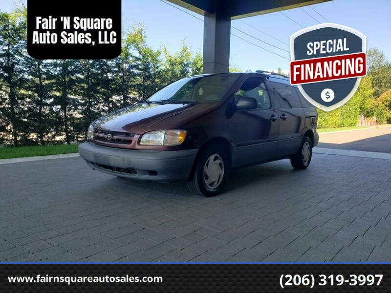 1998 Toyota Sienna for sale in Kent, WA