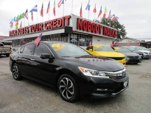 2016 Honda Accord for sale at Giant Auto Mart 2 in Houston TX