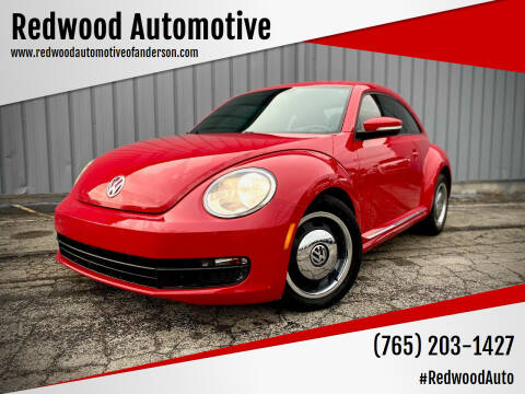 2012 Volkswagen Beetle for sale at Redwood Automotive in Anderson IN