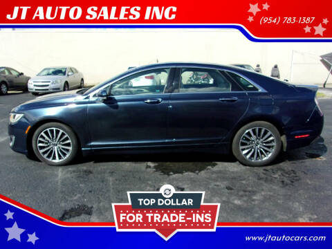 2017 Lincoln MKZ for sale at JT AUTO SALES INC in Oakland Park FL