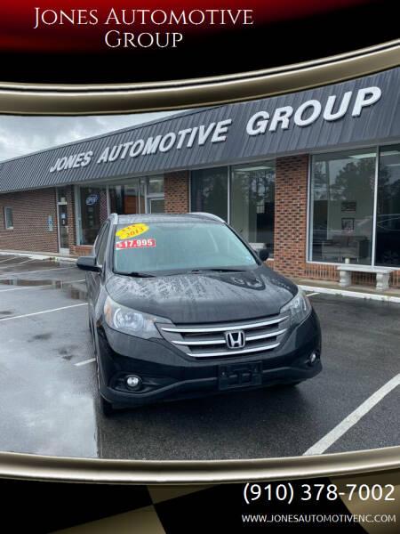 2013 Honda CR-V for sale at Jones Automotive Group in Jacksonville NC