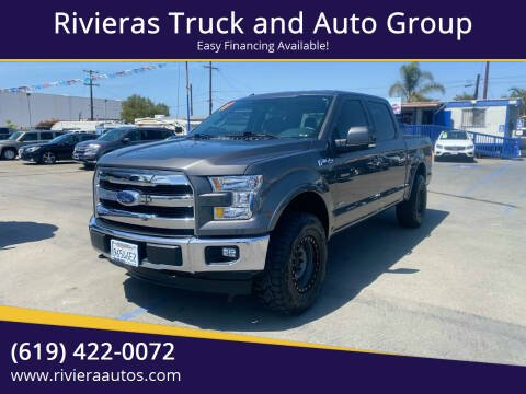 2017 Ford F-150 for sale at Rivieras Truck and Auto Group in Chula Vista CA