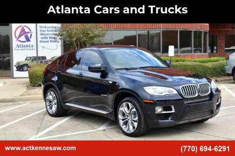 2013 BMW X6 for sale at Atlanta Cars and Trucks in Kennesaw GA