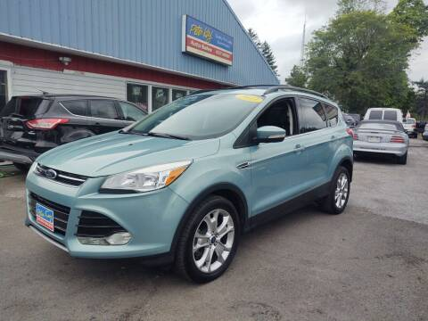 2013 Ford Escape for sale at Peter Kay Auto Sales in Alden NY